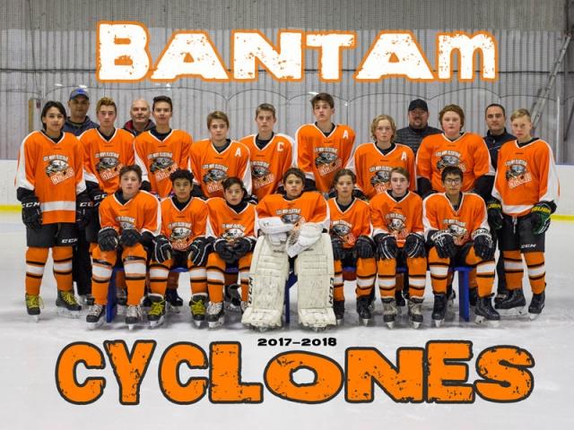 Bantam Cyclones Hockey