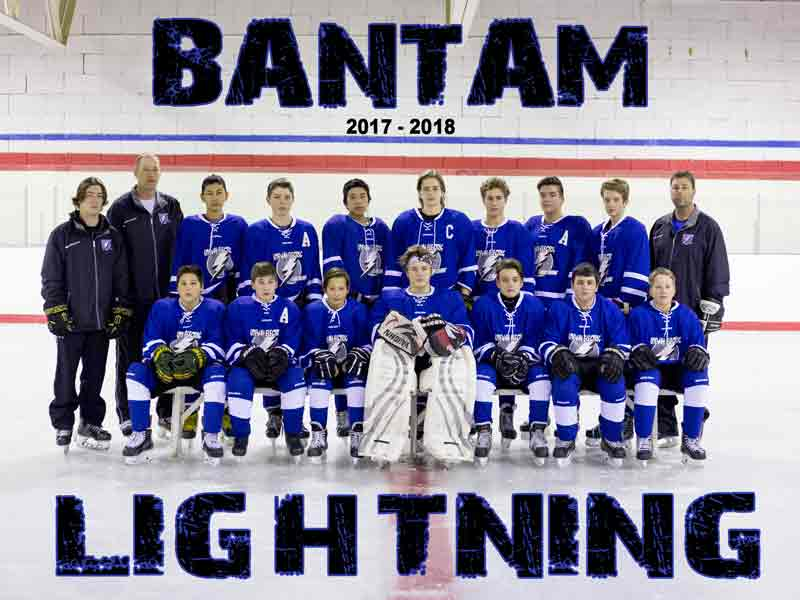 Bantam Lightning Hockey